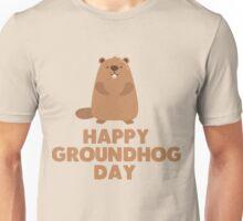 Awesome Groundhog Day Design  Unisex T-Shirt