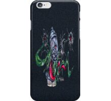 Gruesum Toothsum-Tucson wall art iPhone Case/Skin