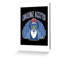 Challenge Timecollab with manospd Greeting Card