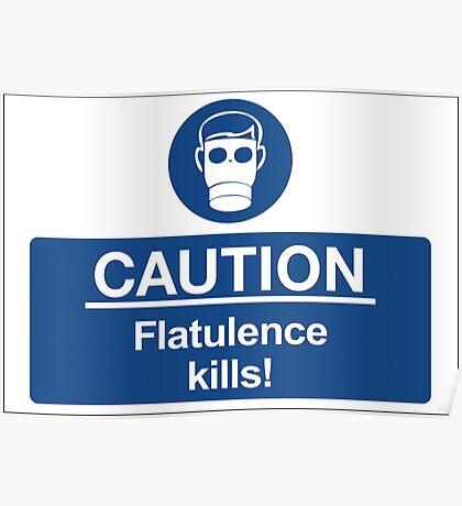 Flatulence Kills! Poster