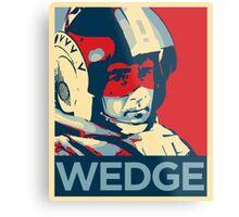 Wedge - Hero of the Rebellion : Inspired By Star Wars Metal Print