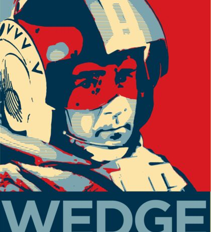 Wedge - Hero of the Rebellion : Inspired By Star Wars Sticker