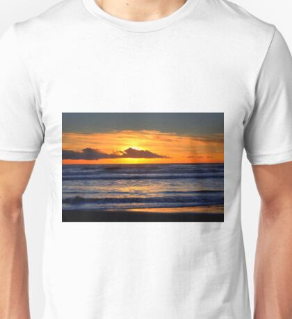 Sunset at the sea Unisex T-Shirt