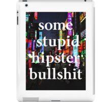 Hipster iPad Case/Skin
