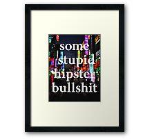 Hipster Framed Print
