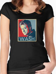 Wash : Inspired by Firefly and Serenity Women's Fitted Scoop T-Shirt