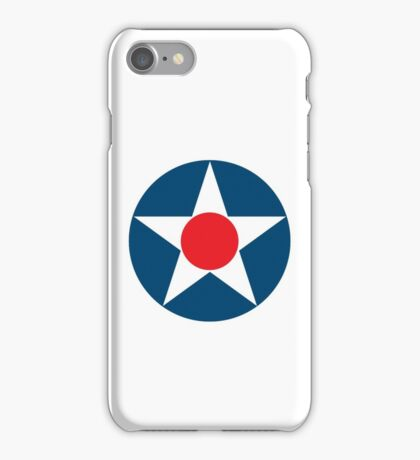 AIR FORCE, SYMBOL, WWII, USA, Pre War, To May 1942 iPhone Case/Skin