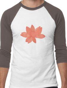 lotus flower Men's Baseball ¾ T-Shirt