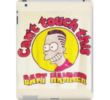 CAN'T TOUCH THIS--MC BARTHAMMER iPad Case/Skin