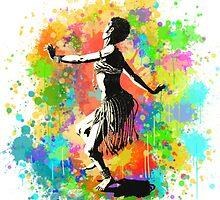 African Rain Dancer (Edited!)  by waldein
