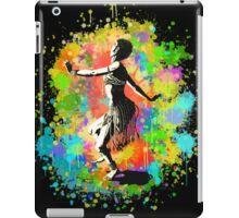 African Rain Dancer (Edited!)  iPad Case/Skin