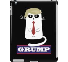 Trump cat: Grump iPad Case/Skin