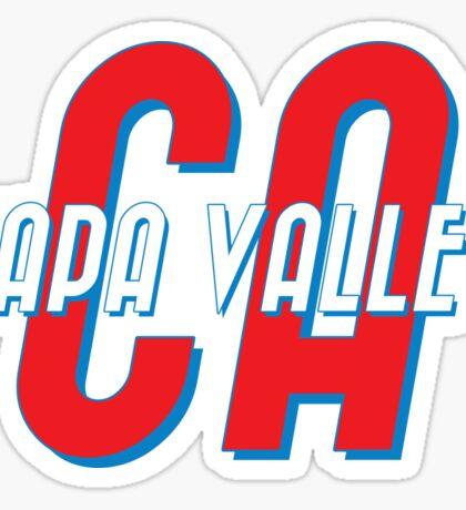 Napa Valley California Sticker