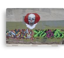 NOT clowning around-wall art Canvas Print