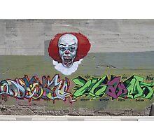 NOT clowning around-wall art Photographic Print
