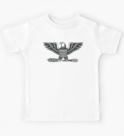 Colonel, rank, insignia, United States Army, Air Force, Marine Corps. Kids Tee