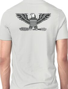 Colonel, rank, insignia, United States Army, Air Force, Marine Corps. Unisex T-Shirt