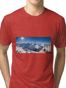 Sunshine in the Alps Tri-blend T-Shirt