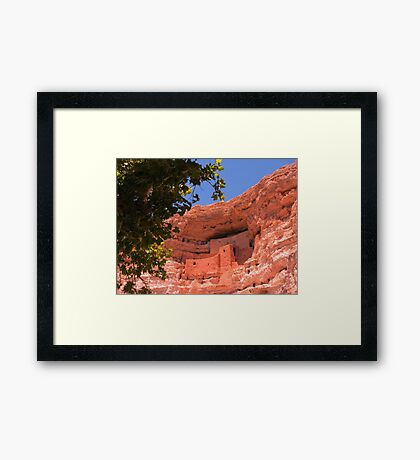 Montezuma Castle Framed Print