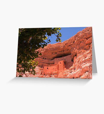 Montezuma Castle Greeting Card