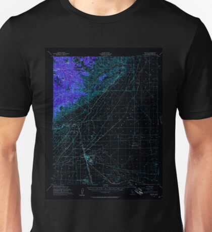 USGS TOPO Map California CA Mojave 298212 1956 62500 geo Inverted Unisex T-Shirt
