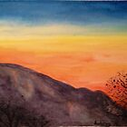 Mountain Sunset by FedericoArts