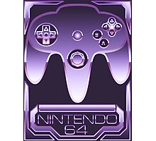 Chrome Nintendo 64 Photographic Print
