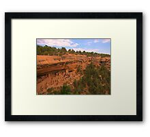 Famous Mesa Verde Cliff Dwellings Framed Print