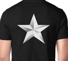 ARMY, SILVER, STAR, USA, rank, insignia, United States Army, Air Force, and Marine Corps. Unisex T-Shirt
