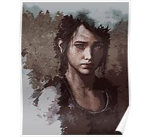 Ellie - from The Last of Us Poster
