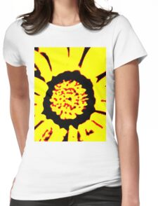 Sunflower Of Love  Womens Fitted T-Shirt