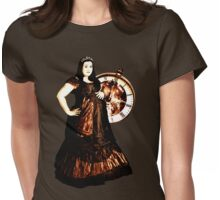 Tick Tock Womens Fitted T-Shirt