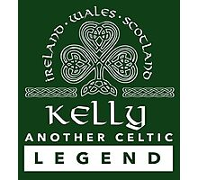 Limited Edition 'Kelly: Another Celtic Legend' Ireland/Scotland/Wales Accessories Photographic Print