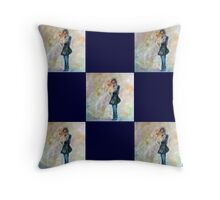 Wedding Dance Artist Designed Gifts Throw Pillow