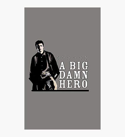 Firefly's Malcolm Reynolds: A Big Damn Hero Photographic Print