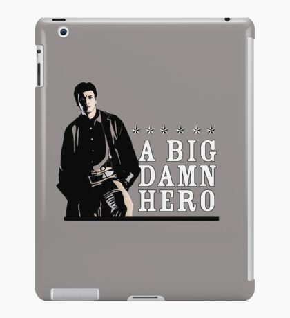 Firefly's Malcolm Reynolds: A Big Damn Hero iPad Case/Skin