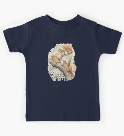 Beatrix potter Fun in the trees Kids Tee