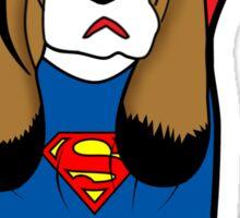 SUPERMAN DOG  Sticker