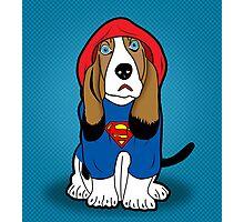 SUPERMAN DOG  Photographic Print