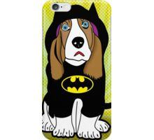 batman dog  iPhone Case/Skin