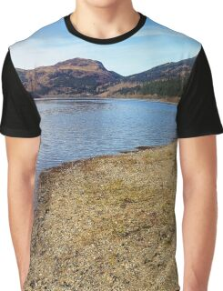 Scottish Lochs and Mountains Graphic T-Shirt