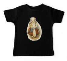Beatrix potter The Guinea Pig in the top hat Baby Tee