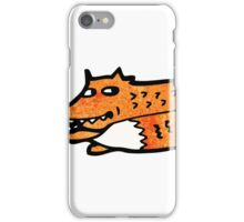 cartoon fox iPhone Case/Skin