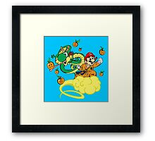 Super Mario Ball Framed Print