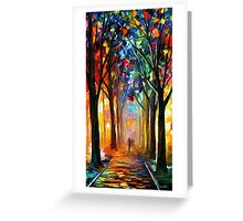 Alley Of The Dream — Buy Now Link - www.etsy.com/listing/174055583 Greeting Card