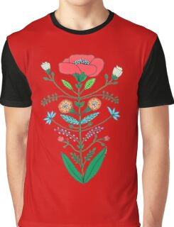 A Rose Graphic T-Shirt