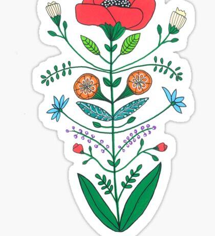 A Rose Sticker
