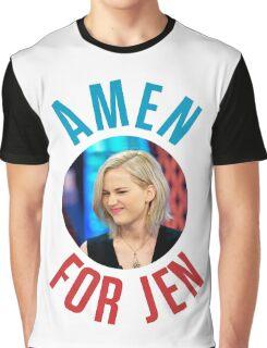 Amen For Jen - Jennifer Lawrence Graphic T-Shirt