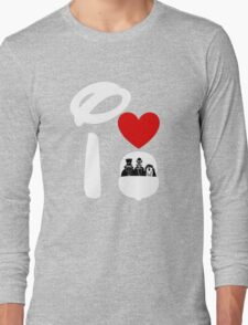 I Heart Haunted Mansion (Inverted) Long Sleeve T-Shirt