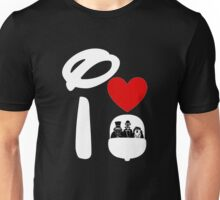 I Heart Haunted Mansion (Inverted) Unisex T-Shirt